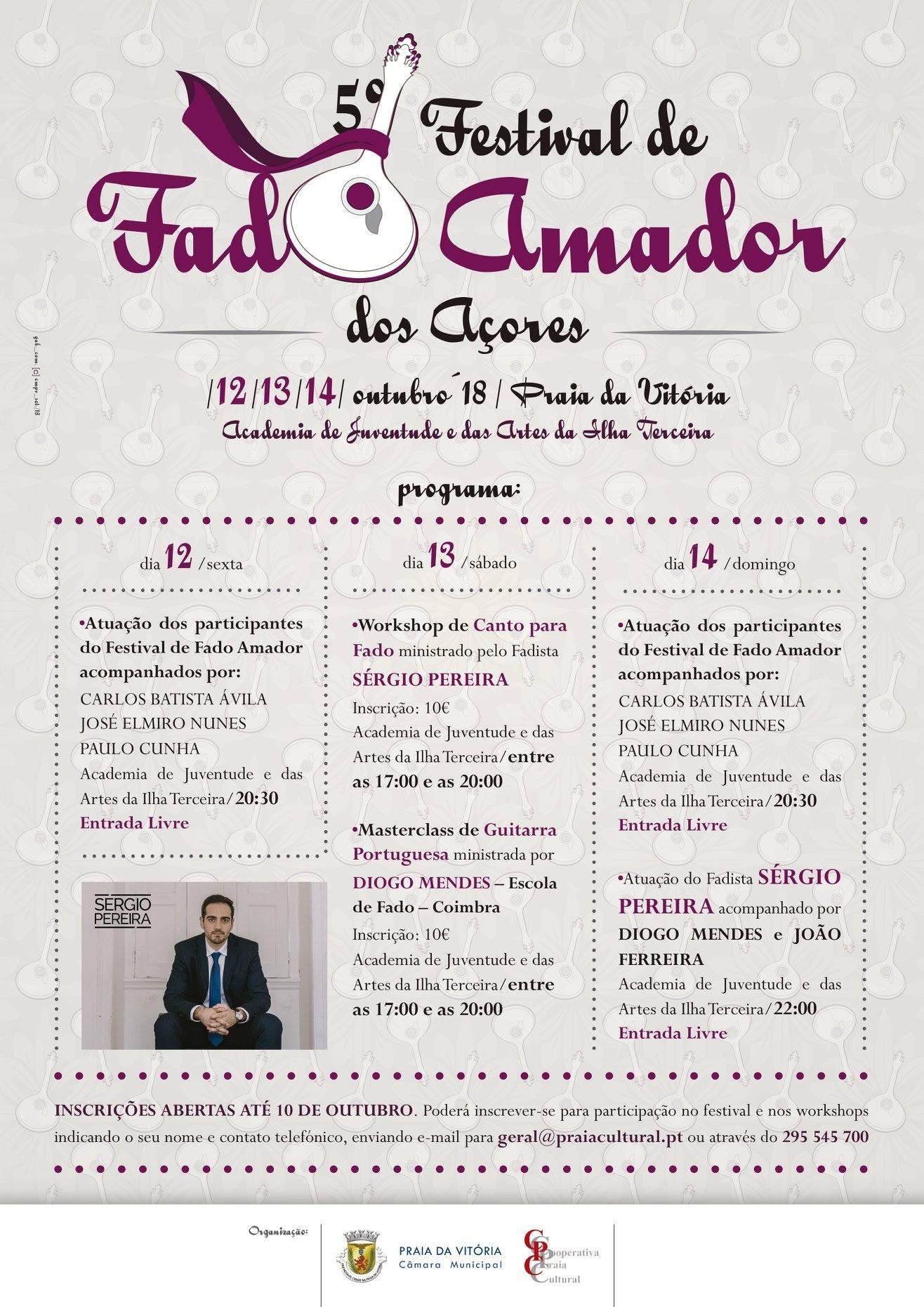 5º Festival de Fado Amador
