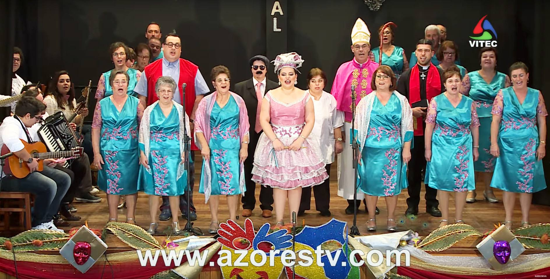 Carnaval Sénior na VITEC