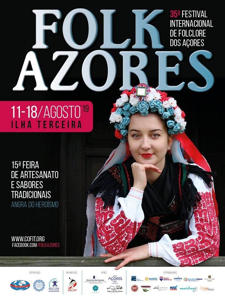 Folk Azores XXXV Festival Internacional de Folclore dos Açores