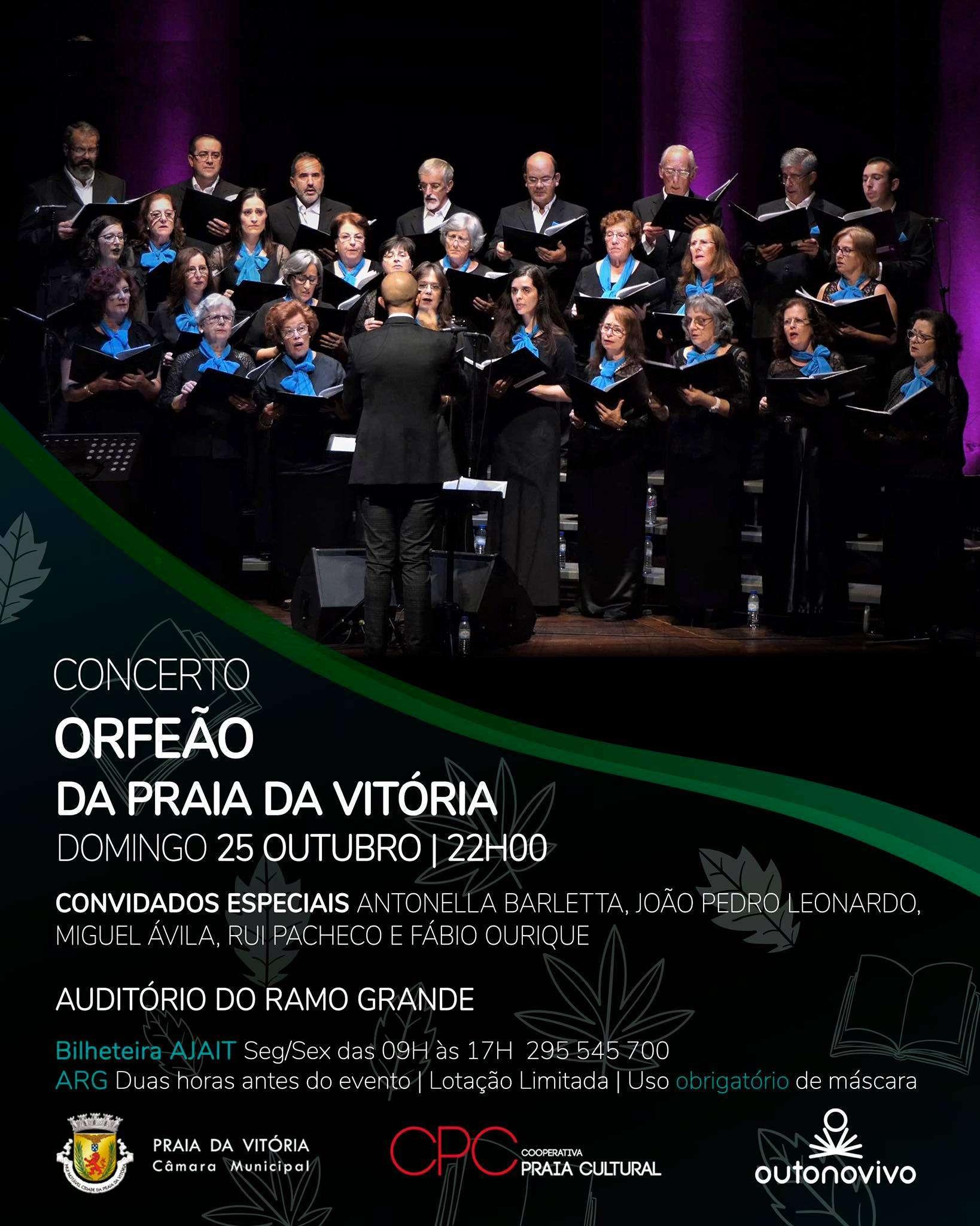 """Concerto do """"Orfeão da Praia da Vitória"""""""