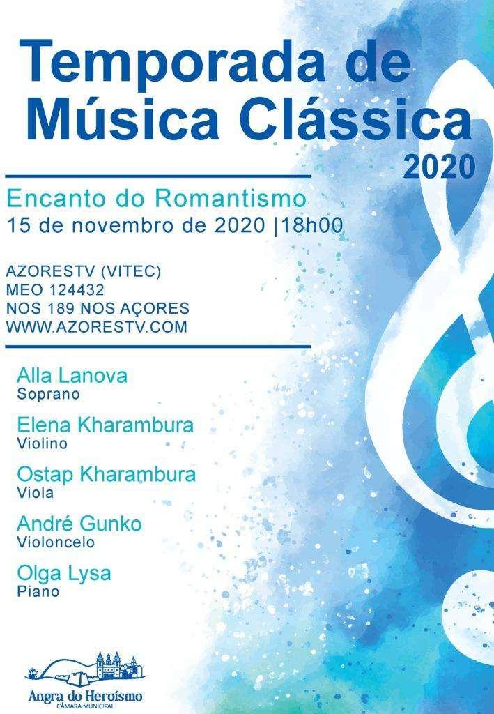 Música Clássica Encanto do Romantismo em Angra ao Vivo