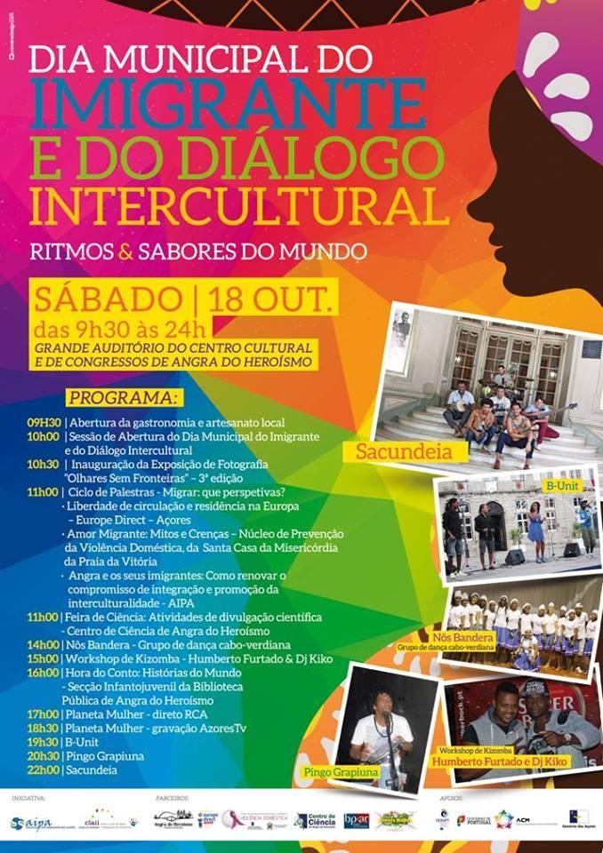 Dia Municipal do Imigrante e do Diálogo Intercultural