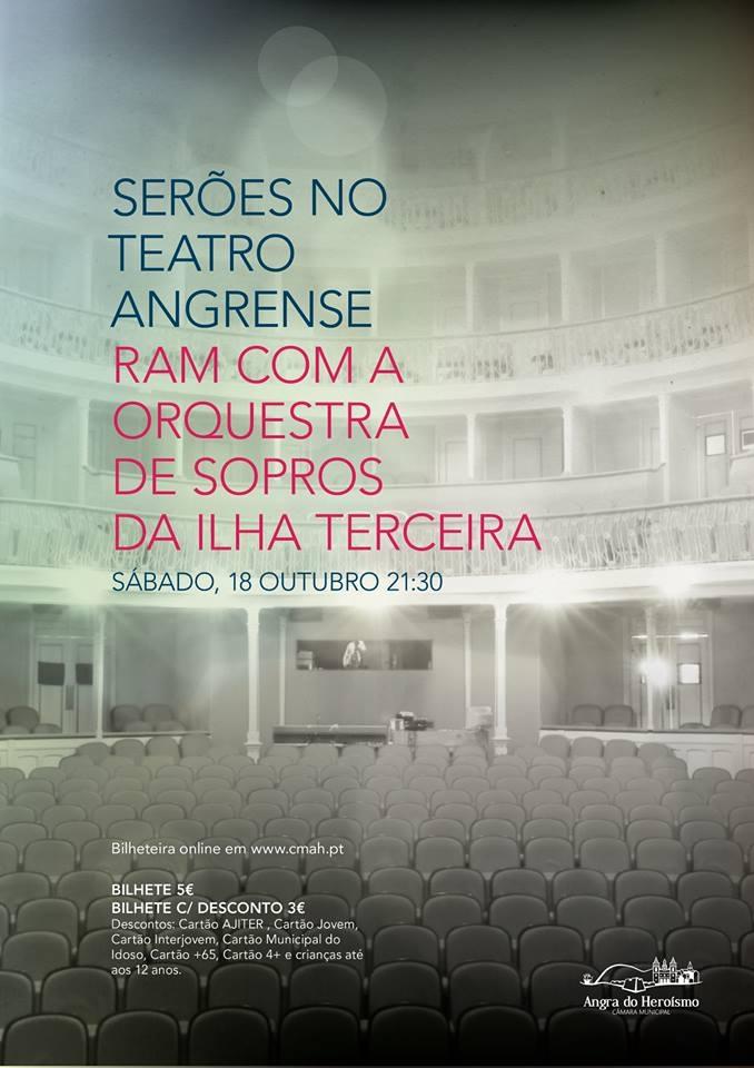 Concerto RAM com a Orquestra de Sopros da Ilha Terceira