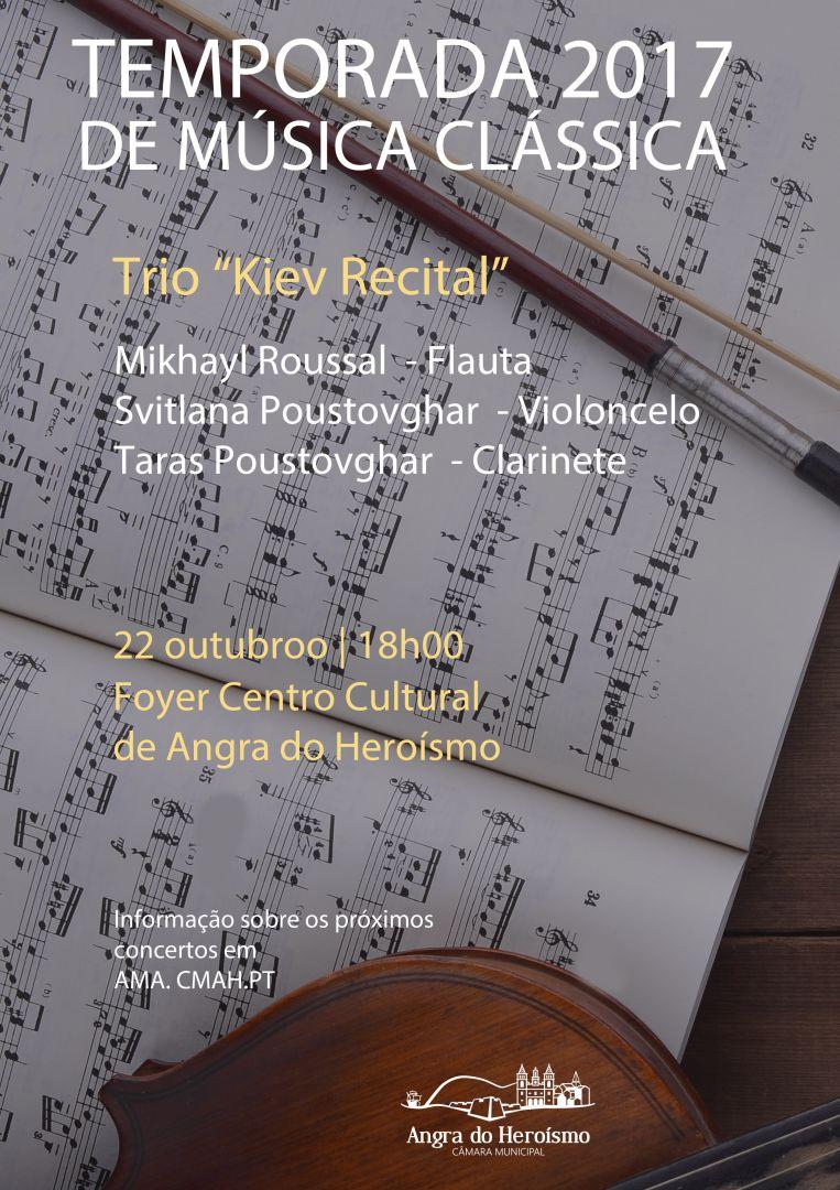 Temporada de Música Clássica «Trio Kiev Recital»