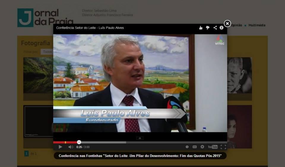Conferência Setor do Leite - Luís Paulo Alves